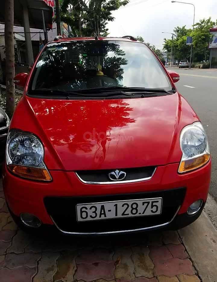 Bán ô tô Daewoo Matiz đời 2009, màu đỏ, nhập khẩu nguyên chiếc còn mới   (1)