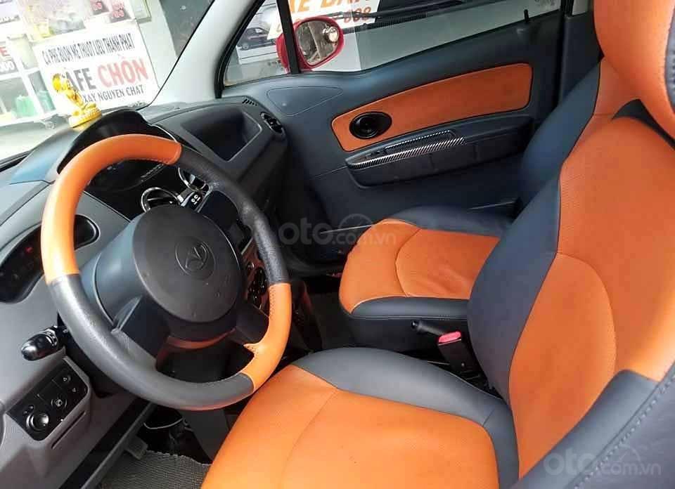Bán ô tô Daewoo Matiz đời 2009, màu đỏ, nhập khẩu nguyên chiếc còn mới   (4)