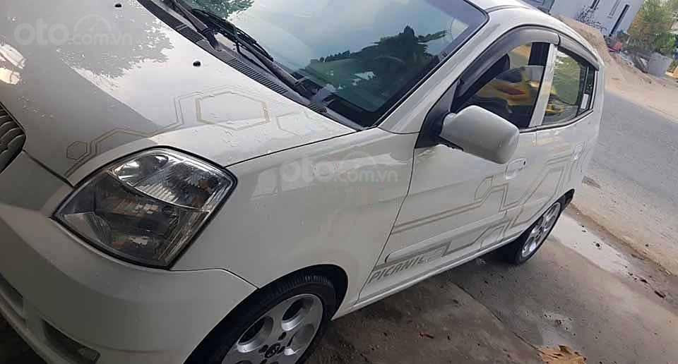Bán Kia Picanto sản xuất 2006, màu trắng, nhập khẩu nguyên chiếc   (1)