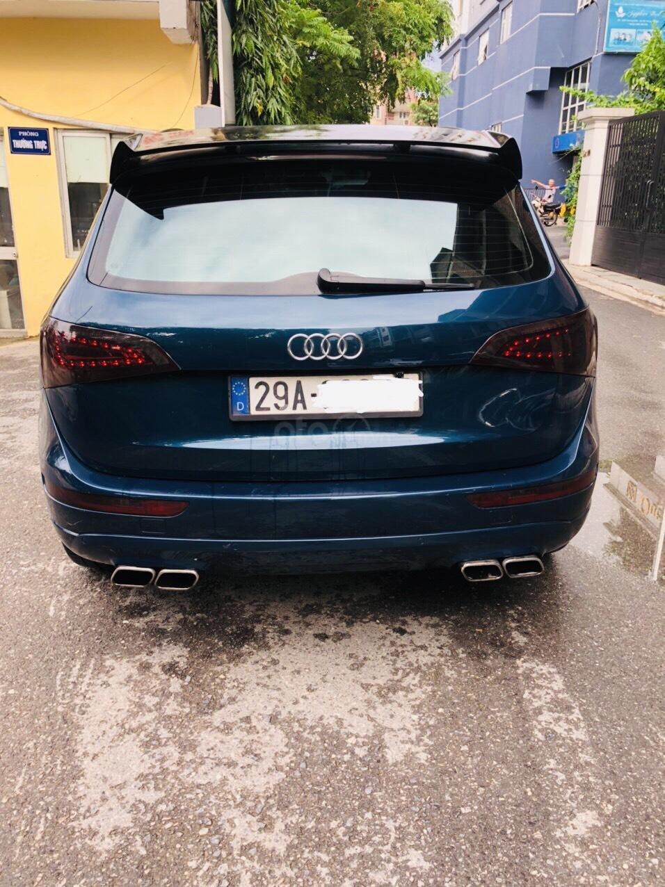 Chính chủ bán Audi Q5 sản xuất năm 2011, màu xanh lam, giá chỉ 755tr (2)