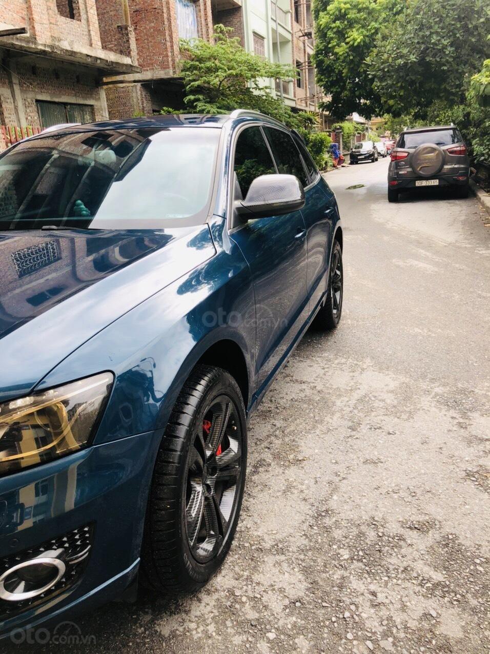 Chính chủ bán Audi Q5 sản xuất năm 2011, màu xanh lam, giá chỉ 755tr (10)