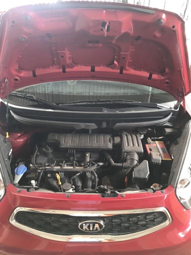 Bán xe Kia Morning năm sản xuất 2018, màu đỏ xe gia đình (9)