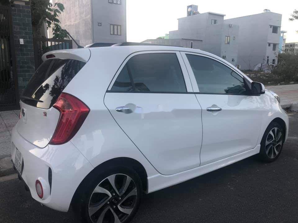 Xe Kia Morning đời 2017, màu trắng còn mới (3)