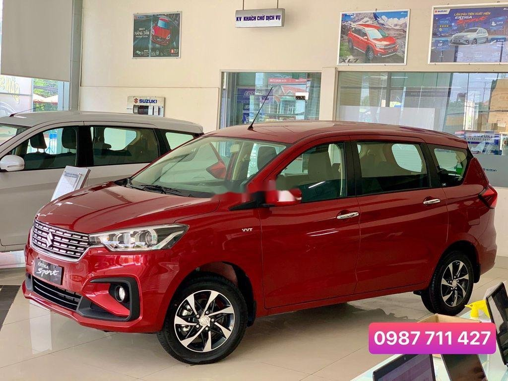 Cần bán Suzuki Ertiga năm sản xuất 2020, màu đỏ, xe nhập   (3)
