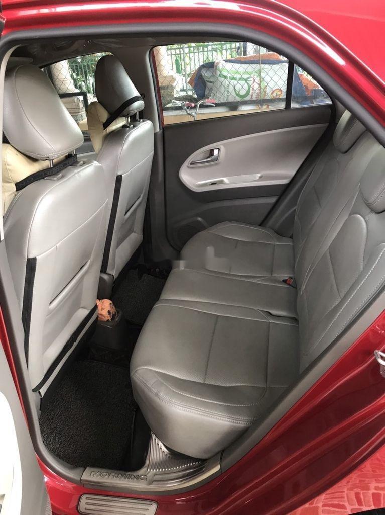 Bán xe Kia Morning năm sản xuất 2018, màu đỏ xe gia đình (6)