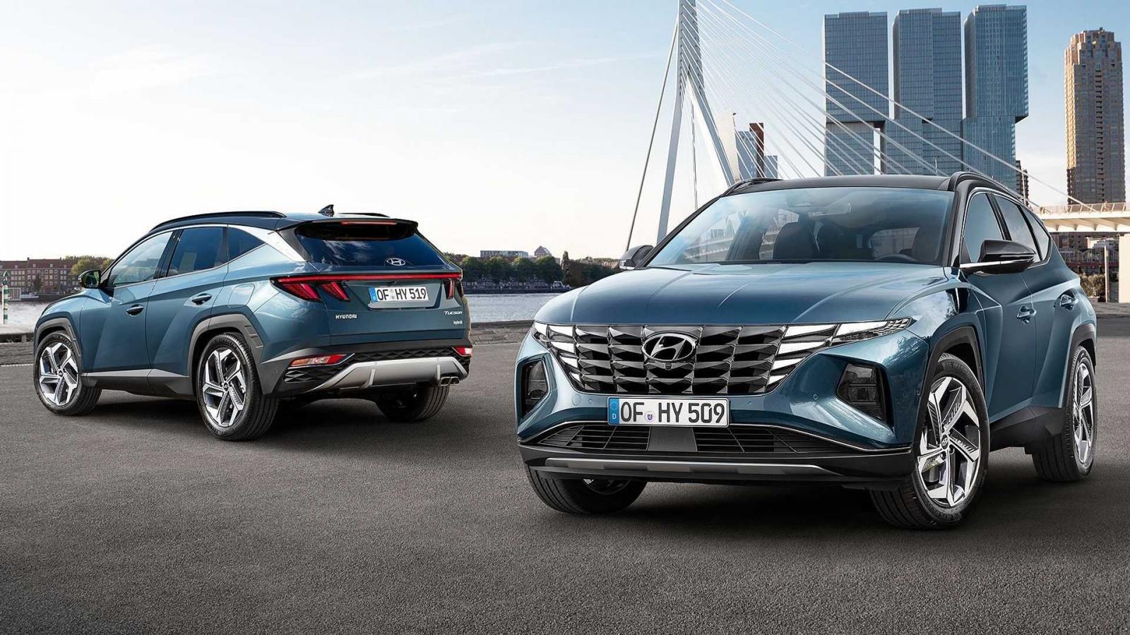 Hyundai Tucson 2022 chính thức ra mắt.