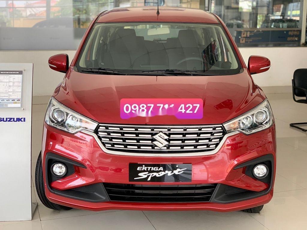 Cần bán Suzuki Ertiga năm sản xuất 2020, màu đỏ, xe nhập   (1)