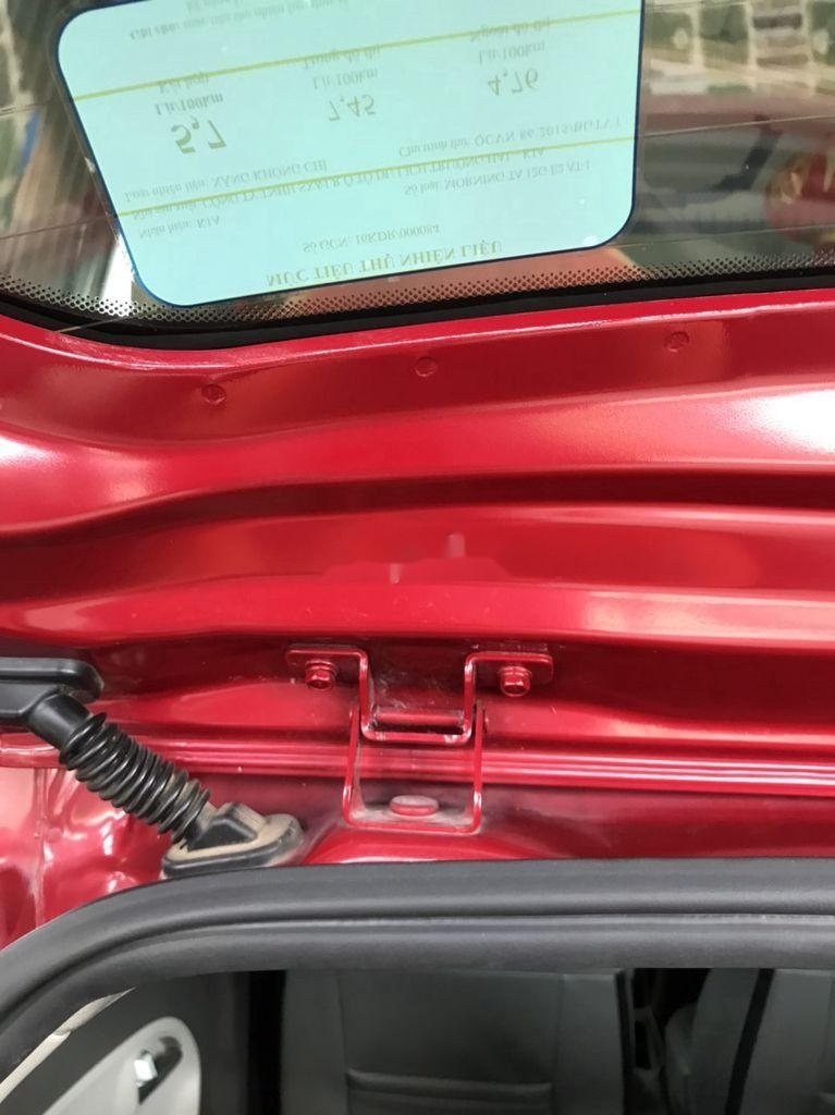 Bán xe Kia Morning năm sản xuất 2018, màu đỏ xe gia đình (4)