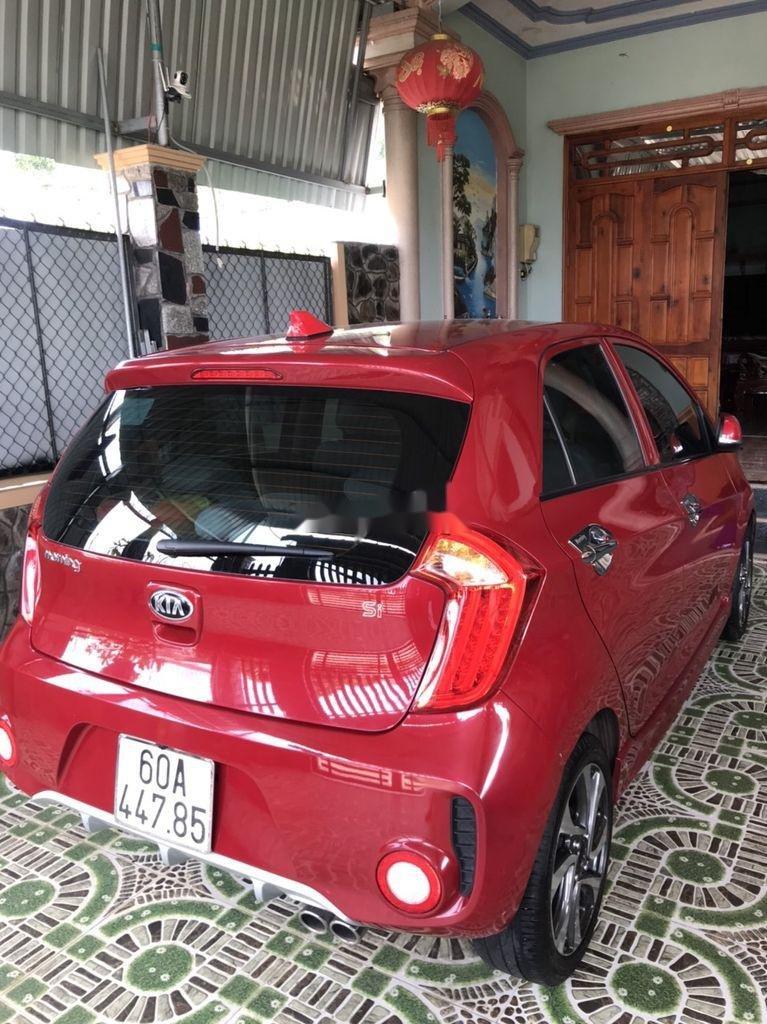 Bán xe Kia Morning năm sản xuất 2018, màu đỏ xe gia đình (3)