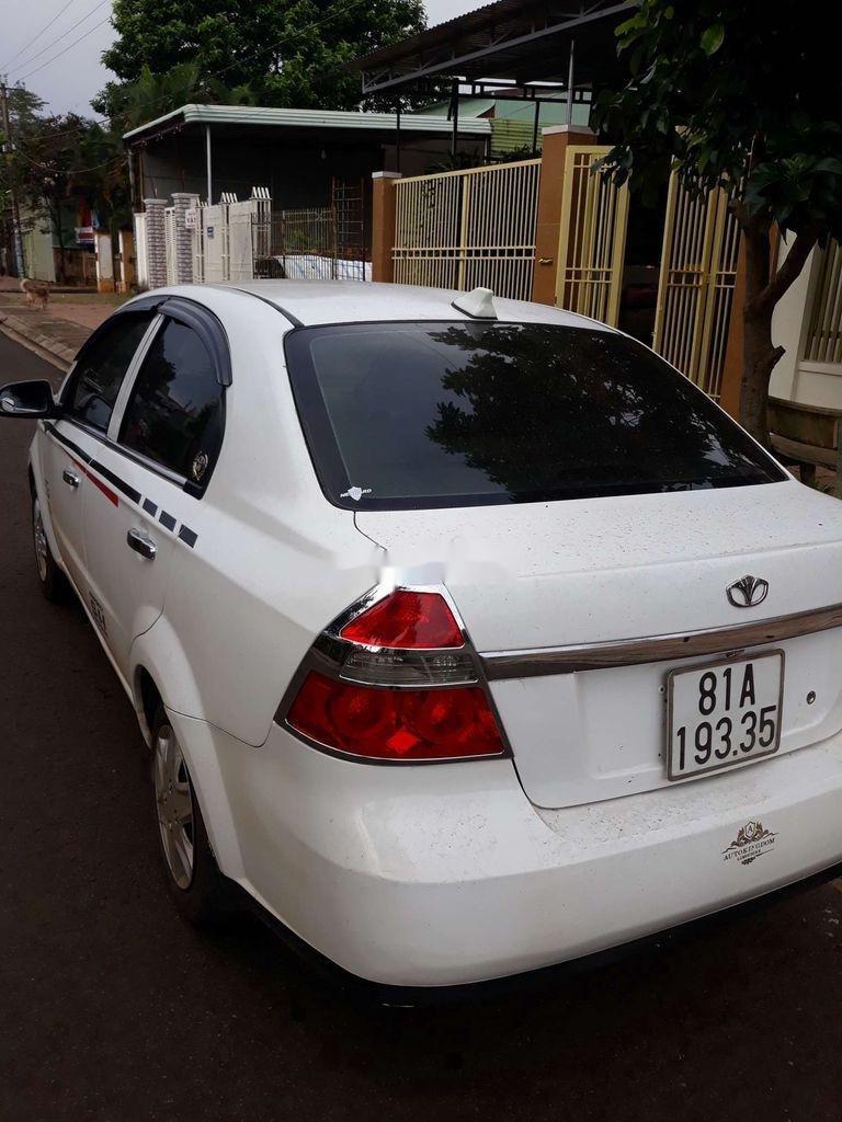 Bán ô tô Daewoo Gentra năm 2008, màu trắng, xe nhập  (4)