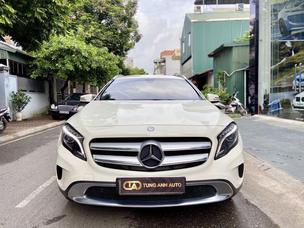 Bán xe Mercedes GLA200 đời 2015, màu trắng, nhập khẩu (1)