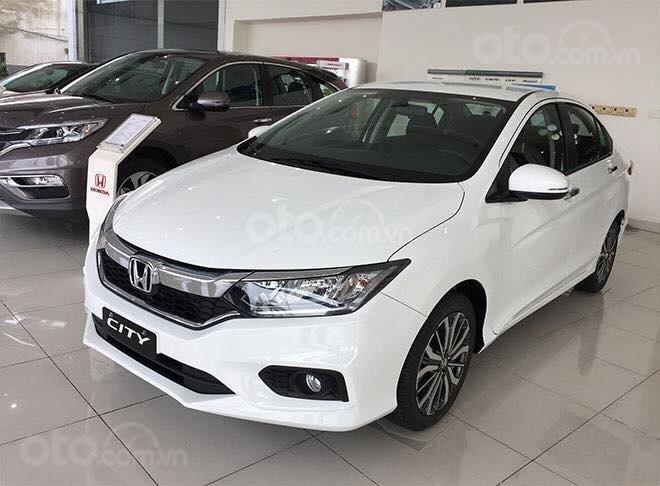 [Honda Kiên Giang] Honda City 2020 + ưu đãi cực khủng + hỗ trợ vay trả góp 80% + sẵn xe giao xe ngay (1)
