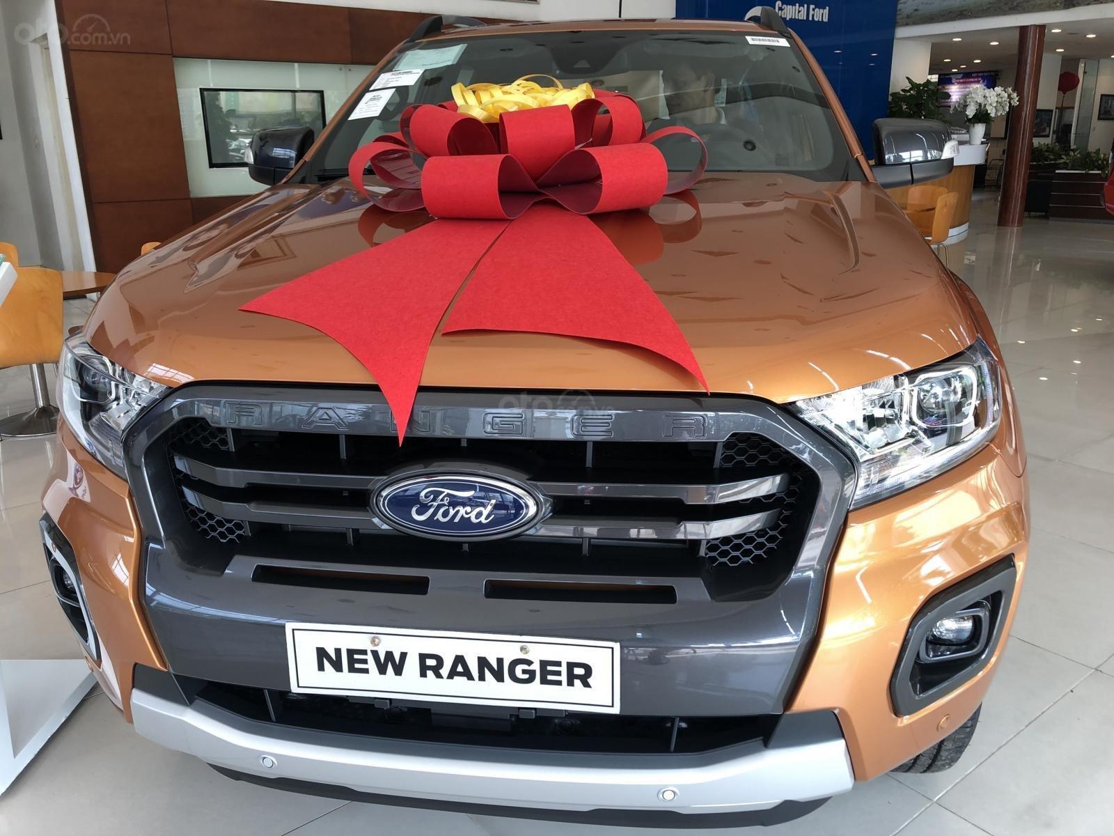 [Siêu ưu đãi] Ford Ranger Wildtrak 2020 Biturbo - khuyến mãi tháng ngâu giảm giá cực ngầu - trả trước 160 triệu lấy xe ngay (3)