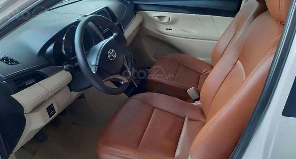 Bán xe Toyota Vios đời 2018, màu trắng còn mới (4)