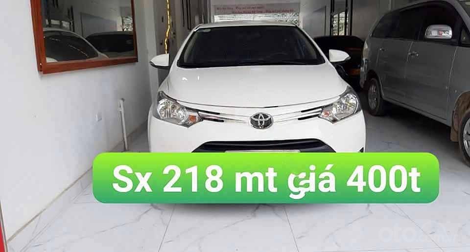 Bán xe Toyota Vios đời 2018, màu trắng còn mới (1)