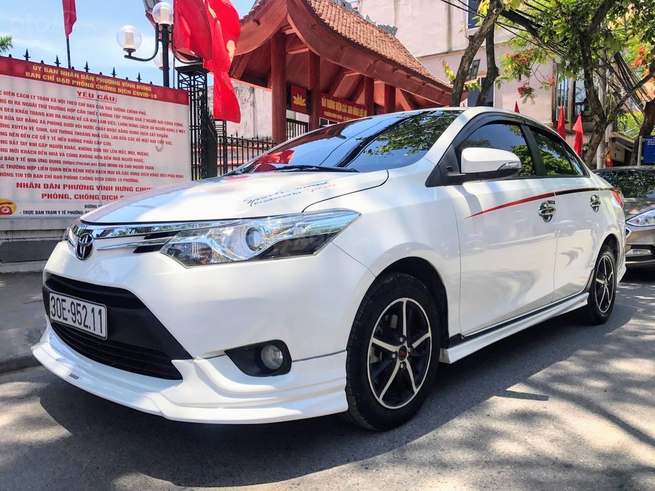 Bán Toyota Vios G 1.5AT 2017 bản thể thao (1)