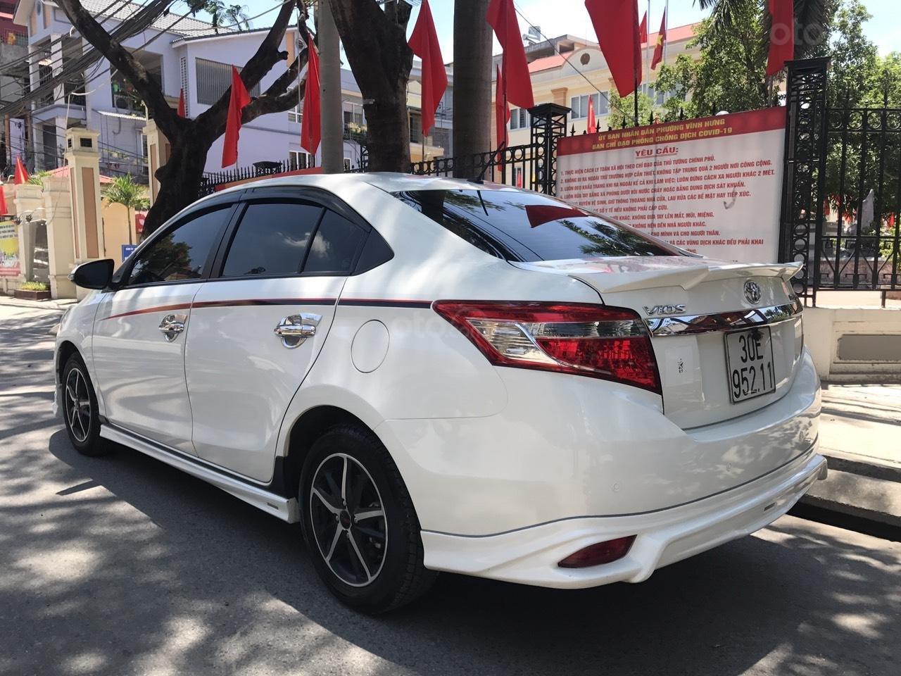 Bán Toyota Vios G 1.5AT 2017 bản thể thao (8)
