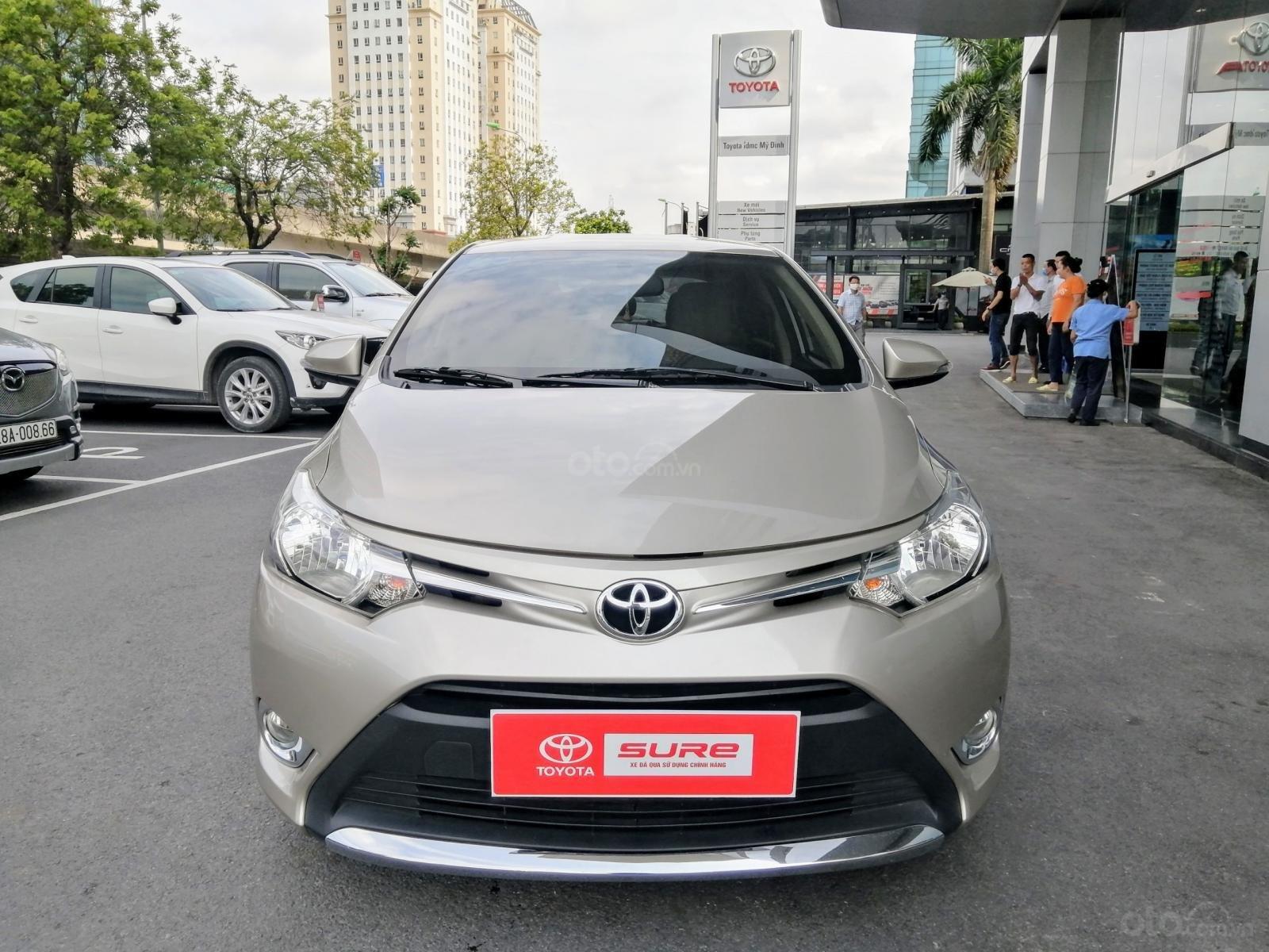 Bán Toyota Vios E CVT 1.5AT 2018, biển Hà Nội (1)