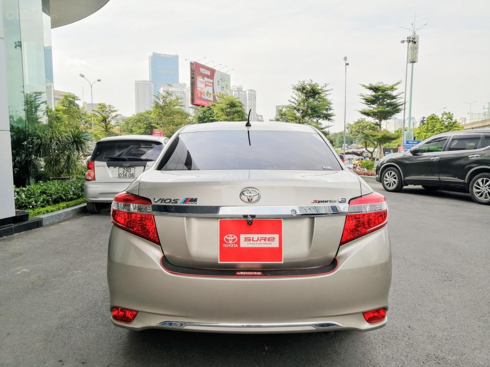 Bán Toyota Vios E CVT 1.5AT 2018, biển Hà Nội (3)