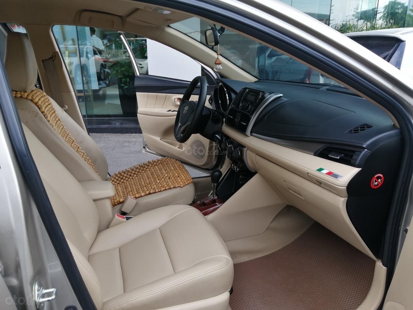 Bán Toyota Vios E CVT 1.5AT 2018, biển Hà Nội (10)