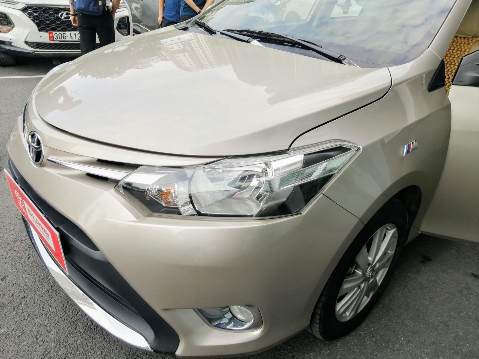 Bán Toyota Vios E CVT 1.5AT 2018, biển Hà Nội (8)