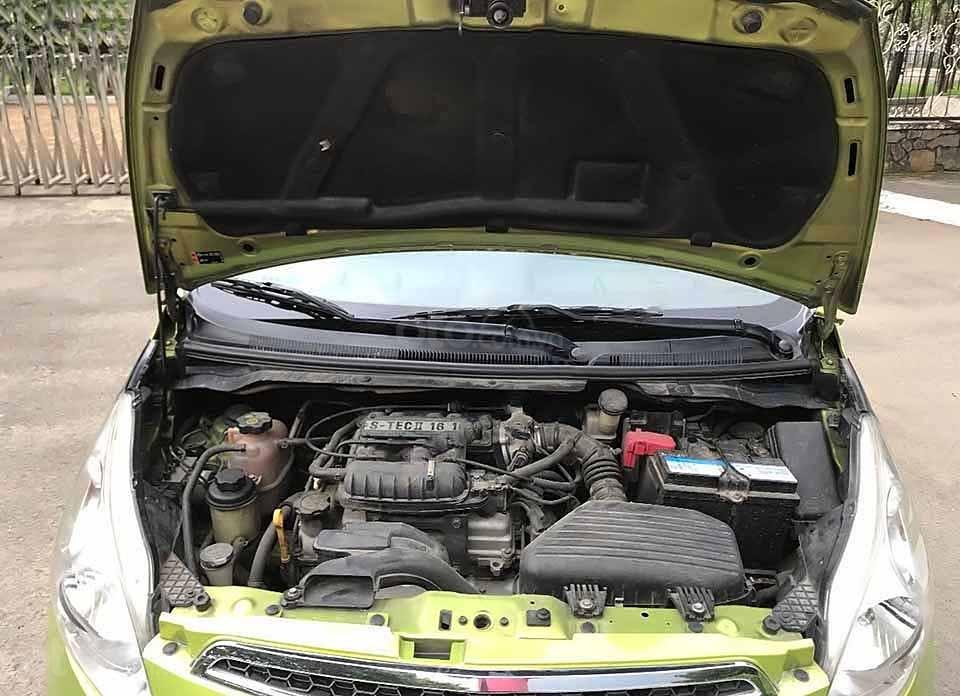 Bán Chevrolet Spark năm sản xuất 2013, màu xanh lam còn mới (3)
