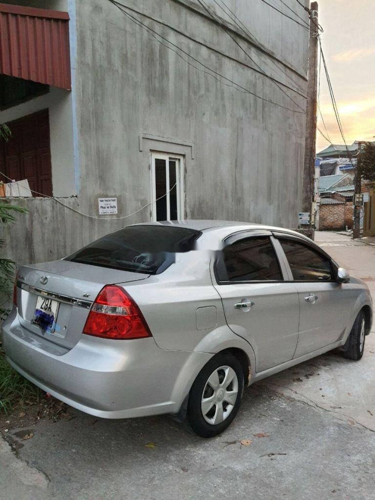Bán Daewoo Gentra đời 2009, màu bạc (5)