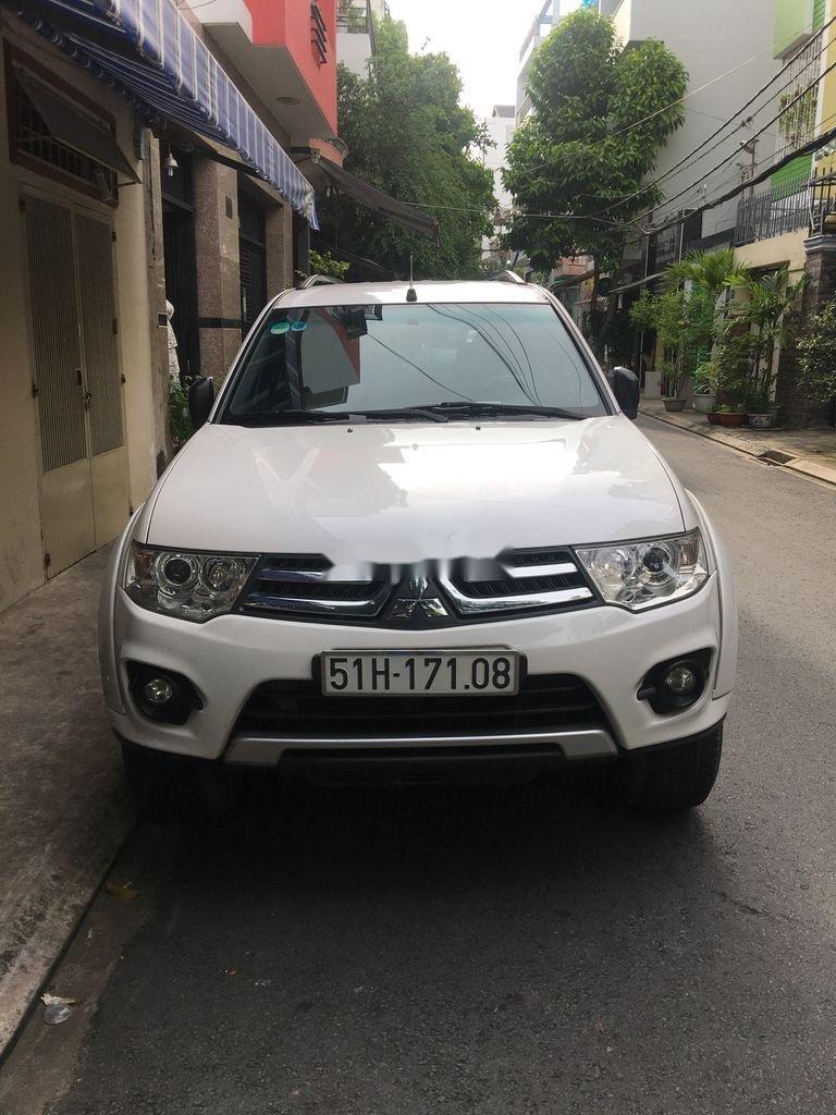 Bán Mitsubishi Pajero sản xuất năm 2017, màu trắng, nhập khẩu, 580 triệu (1)