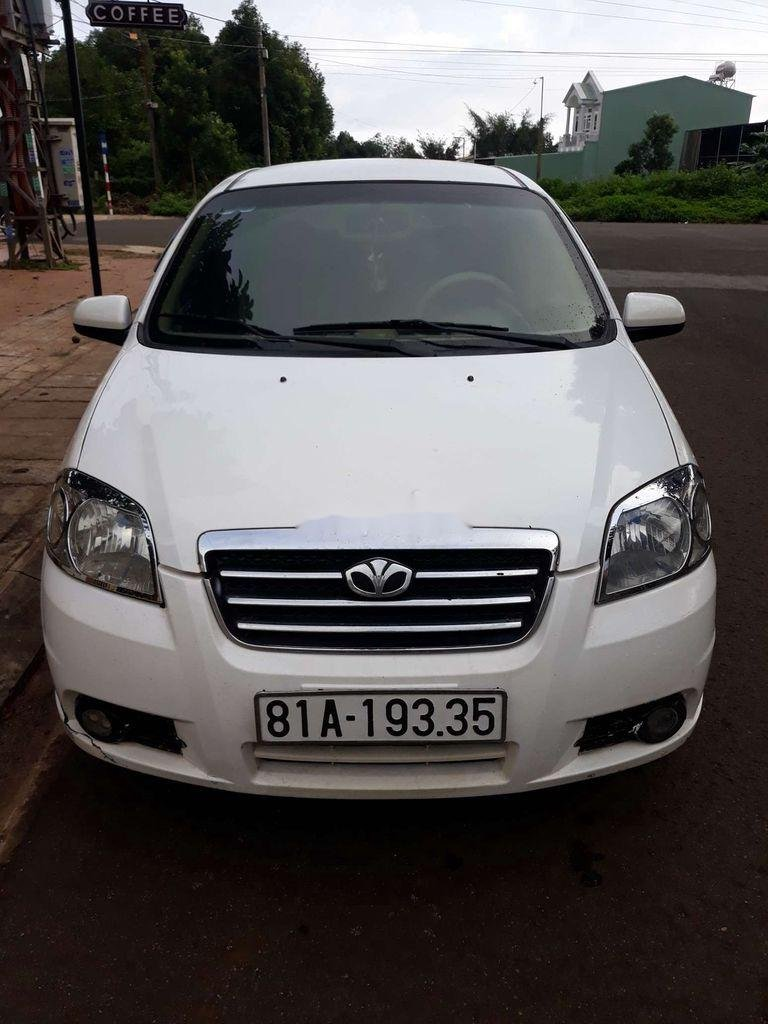 Bán ô tô Daewoo Gentra năm 2008, màu trắng, xe nhập  (1)