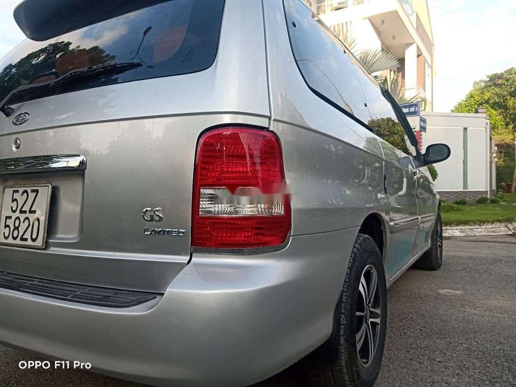 Bán Kia Carnival năm sản xuất 2007, màu bạc, xe nhập  (8)
