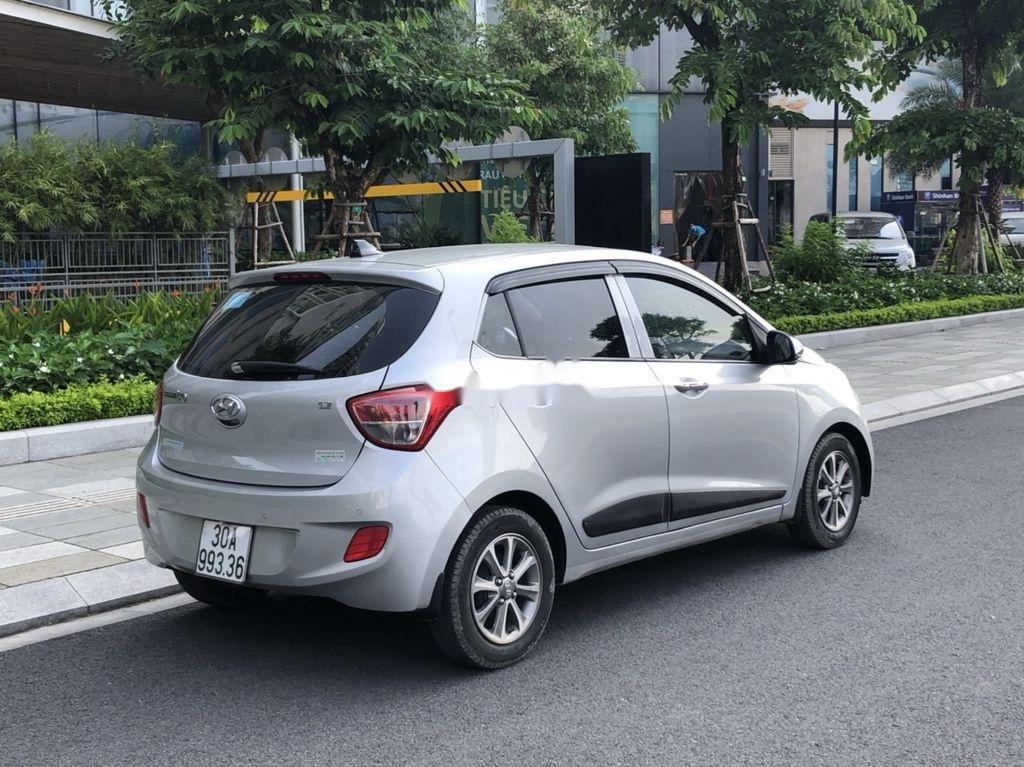 Chính chủ bán Hyundai Grand i10 đời 2016, màu bạc, nhập khẩu, bản đủ (4)