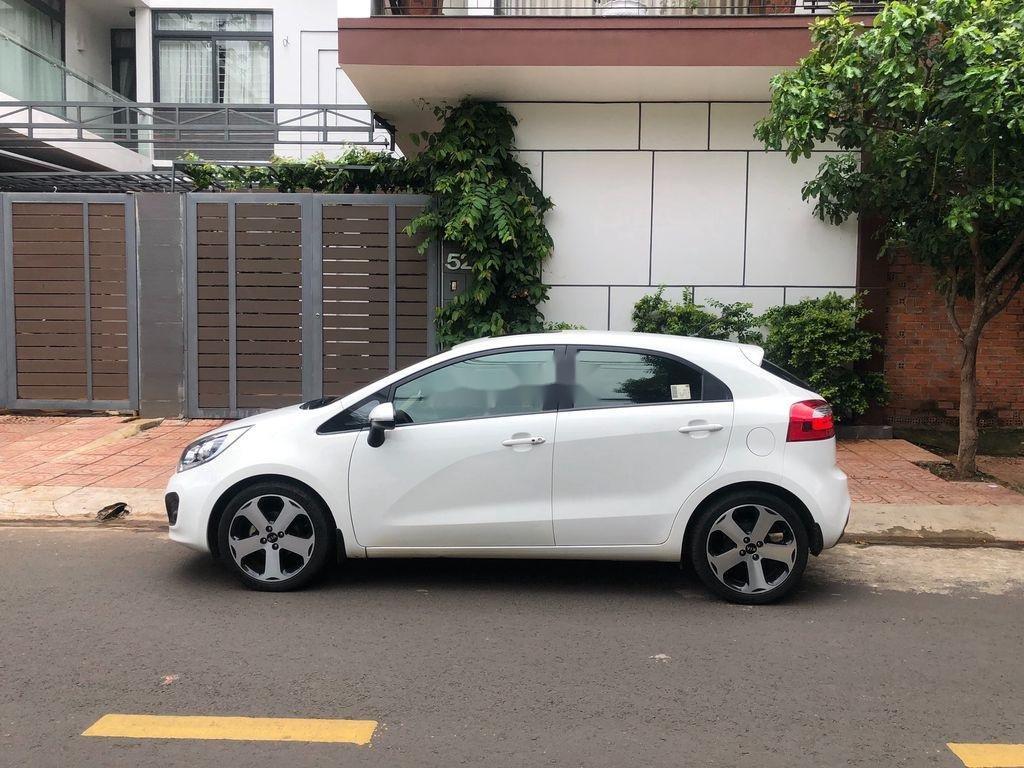 Bán xe Kia Rio đời 2012, màu trắng, nhập khẩu   (6)