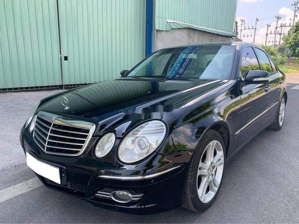 Gia đình bán Mercedes E200 đời 2007, màu đen  (1)