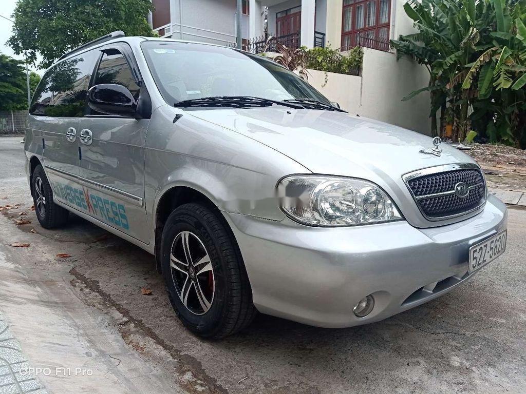 Bán Kia Carnival năm sản xuất 2007, màu bạc, xe nhập  (5)