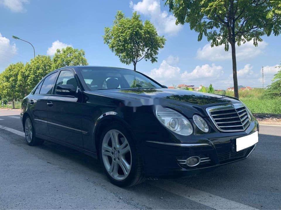 Gia đình bán Mercedes E200 đời 2007, màu đen  (2)