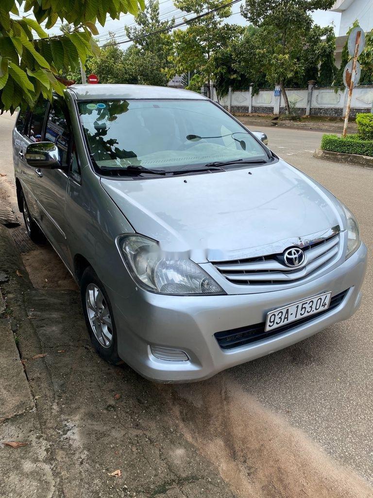 Cần bán Toyota Innova năm sản xuất 2007, màu ghi bạc, giá 189tr (7)