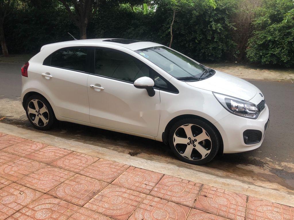 Bán xe Kia Rio đời 2012, màu trắng, nhập khẩu   (3)