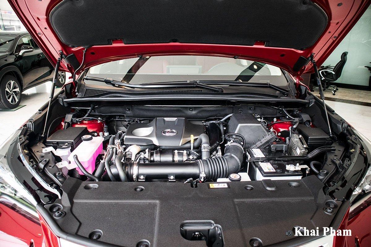 Động cơ trên Lexus NX 2021 mới nhất.