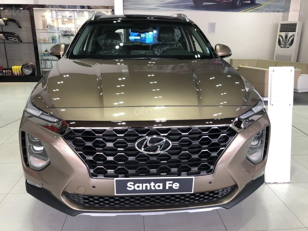 Hyundai Ngọc An bán Hyundai Santa Fe giá tốt, góp 90%, xe đủ màu giao ngay, tặng tiền mặt phụ kiện giá tốt nhất miền Nam (6)