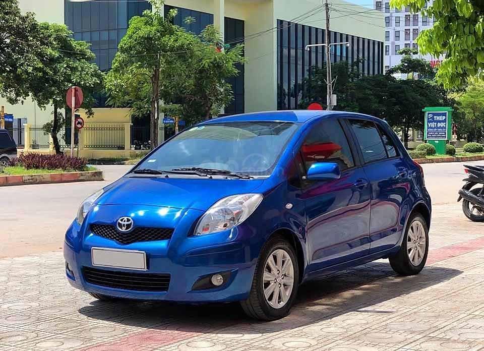Bán Toyota Yaris 1.3 AT sản xuất 2010, màu xanh lam, nhập khẩu chính chủ (1)