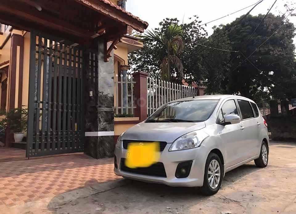 Bán Suzuki Ertiga đời 2015, màu bạc, nhập khẩu nguyên chiếc xe gia đình, giá chỉ 315 triệu (1)