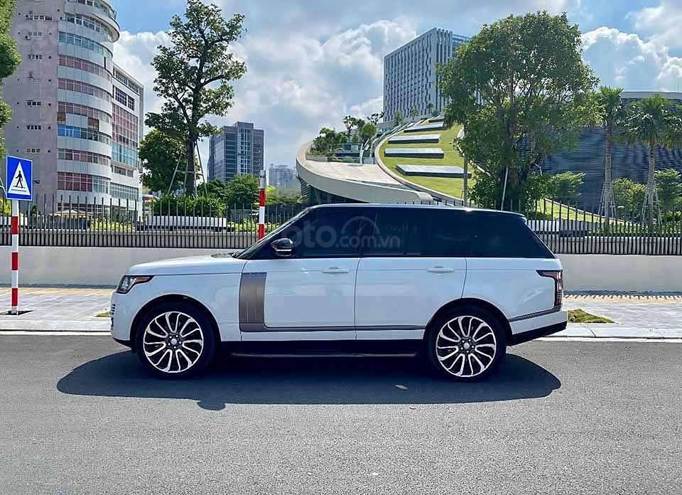 Cần bán LandRover Range Rover HSE 3.0L năm 2013, màu trắng, nhập khẩu nguyên chiếc số tự động (1)