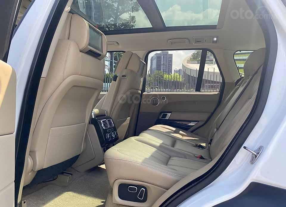Cần bán LandRover Range Rover HSE 3.0L năm 2013, màu trắng, nhập khẩu nguyên chiếc số tự động (5)