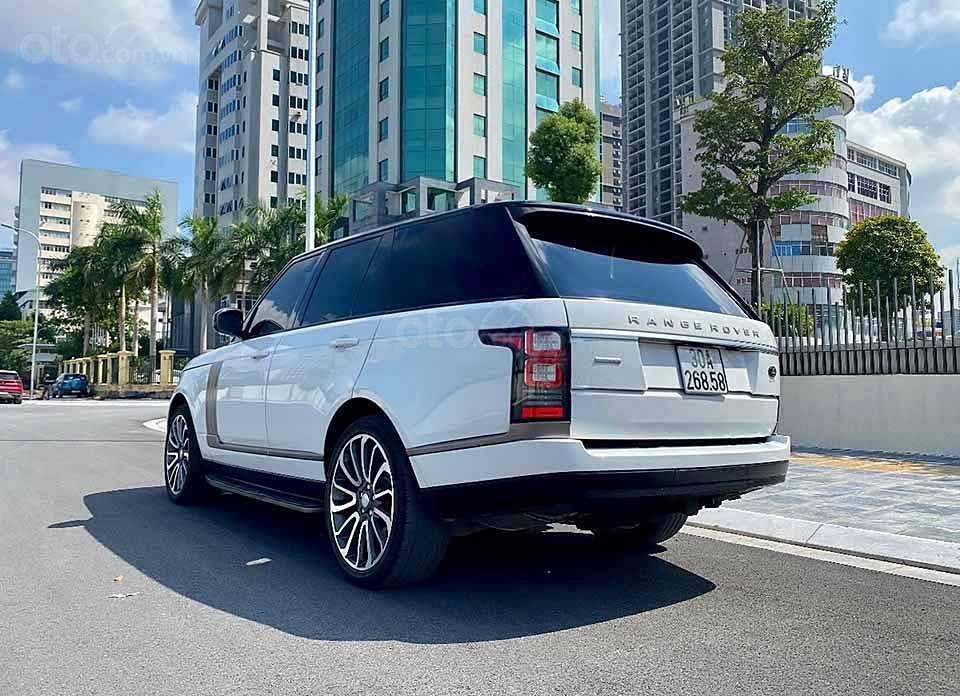Cần bán LandRover Range Rover HSE 3.0L năm 2013, màu trắng, nhập khẩu nguyên chiếc số tự động (6)