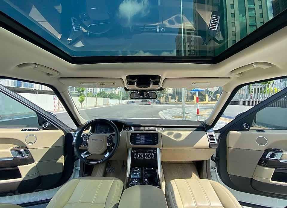 Cần bán LandRover Range Rover HSE 3.0L năm 2013, màu trắng, nhập khẩu nguyên chiếc số tự động (3)