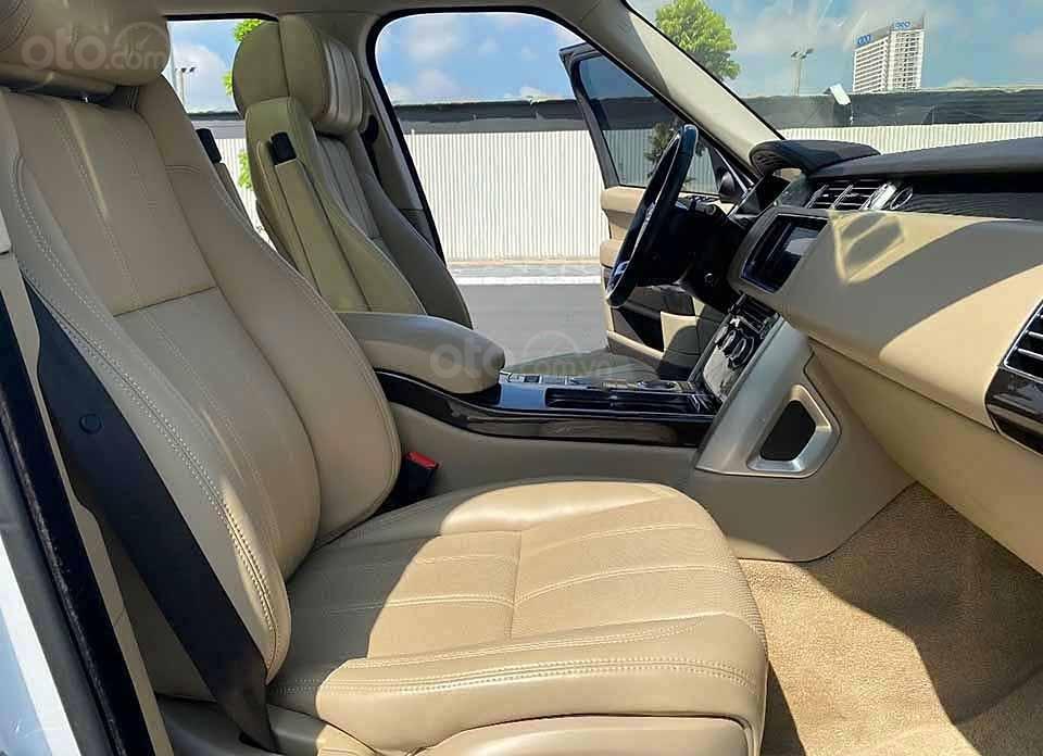 Cần bán LandRover Range Rover HSE 3.0L năm 2013, màu trắng, nhập khẩu nguyên chiếc số tự động (4)