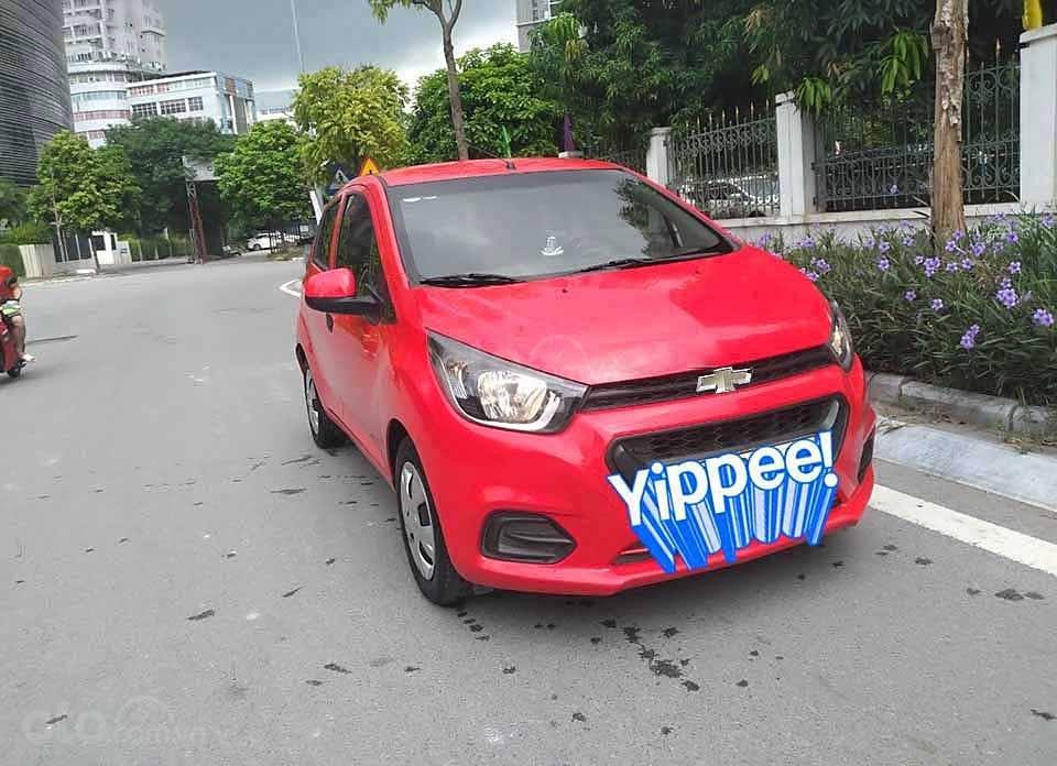 Bán Chevrolet Spark sản xuất năm 2018, màu đỏ   (1)