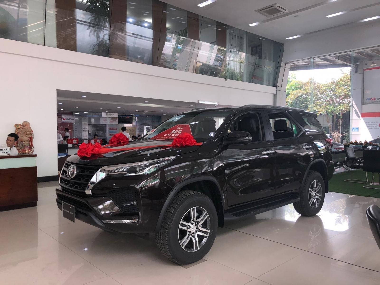 Giá lăn bánh Toyota Fortuner 2021.