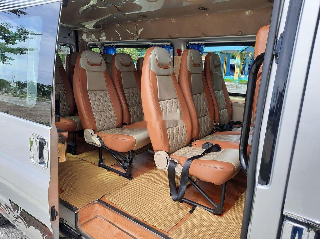 Bán Ford Transit đời 2015, màu bạc, 365tr (9)