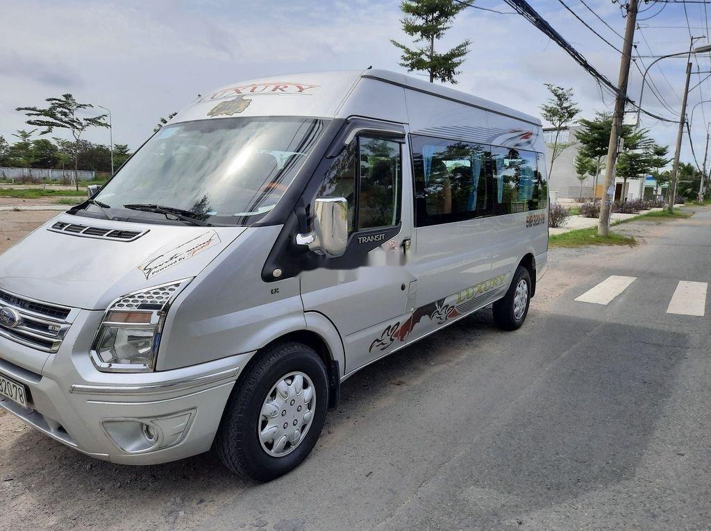Bán Ford Transit đời 2015, màu bạc, 365tr (6)